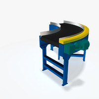 3d belt curve 90 deg model
