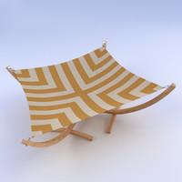 hammock 3d 3ds