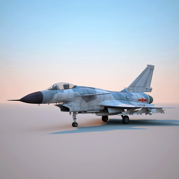 chengdu j-10 china fighter aircraft 3d c4d - Chengdu J-10 ...