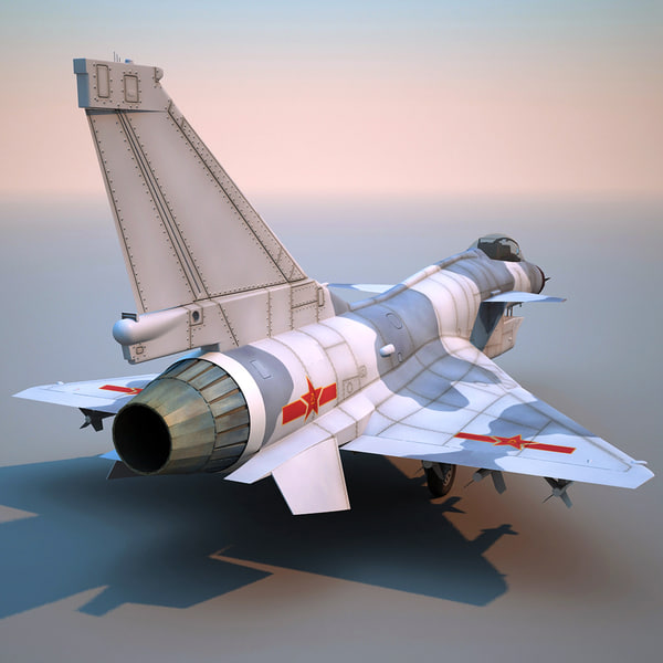 chengdu j-10 china fighter aircraft 3d c4d - Chengdu J-10 China Fighter Aircraft... by 3d_molier