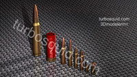 Set of 8 bullets HD