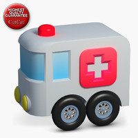 maya construction icons 40 ambulance