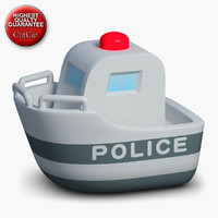 Construction Icons 48 Police Boat