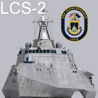 US Navy Littoral Combat Ship LCS-2 Independence