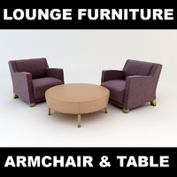 Armchair and Table