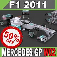 F1 2011 Mercedes GP W02