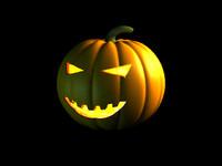 halloween pumpkin obj