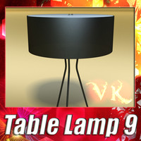 modern table lamp 09 3ds
