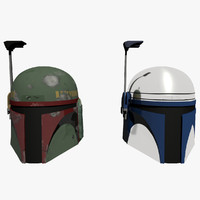 bounty helmets jango fett 3d obj