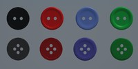 button suit 3d model