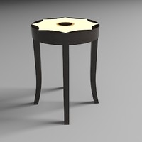 3ds max inlay table
