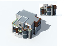 exterior rendering 1 3d model