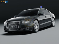 3ds 2011 audi a8 security