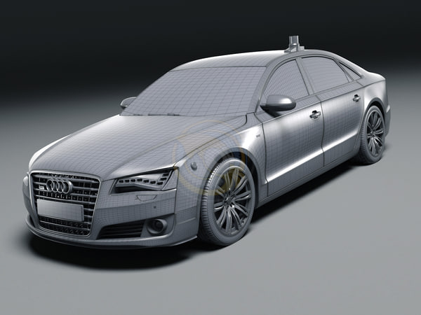 3ds 2011 audi a8 security - Audi A8 Security... by Arte 3D