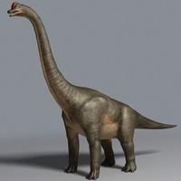 brachiosaurus sauropod max
