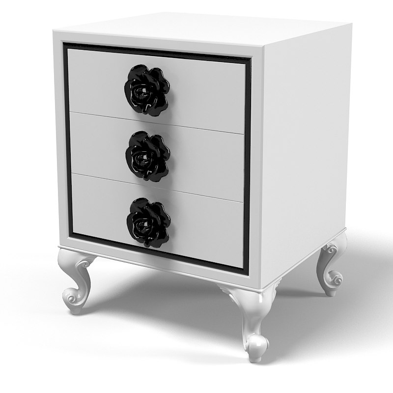 Halley Coco Mini classic Nightstand chest of drawers art children bedroom furniture.jpg