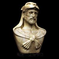 hercules bust statue lwo