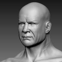 3d model man human jeff