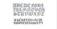 demo alphabet old englisch obj free