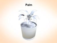 palms plant 3ds