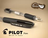 3d pilot pen bps-gp black