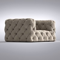 Restoration Hardware - Soho Tufted Chair