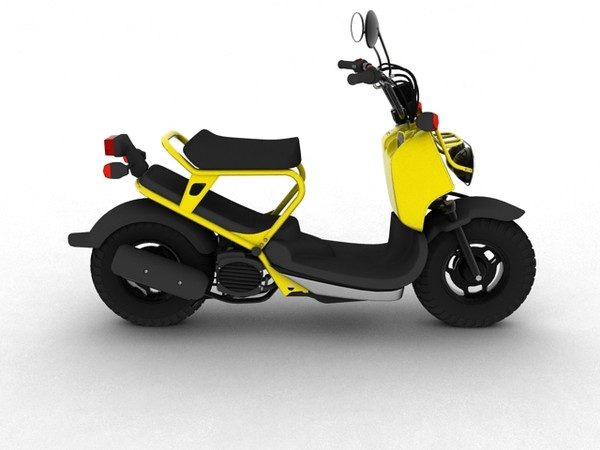 3d ruckus 2012 model - Honda Ruckus 2012... by Gonzo_3d