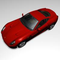 3d model fiorano 599