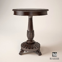 3d model ralph lauren conservatory table