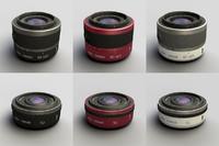 lens nikkor 10mm 10-30mm 3d max