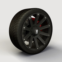 Wheel XD Series Ambush rim and tyre