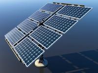 3d solar grid panel