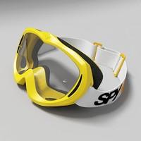 spy goggles 3d model