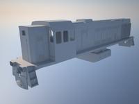3d diesel loco tem2um model