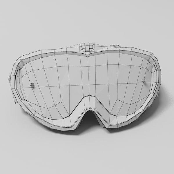 3d spy goggles model - Spy Goggles... by nitacawo