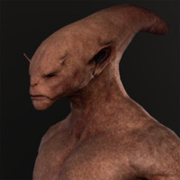 3d tarak alien ztl model