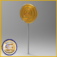 3d model lolipop lollipops
