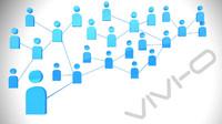 3d social network model
