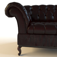 sofa baxter 3d model