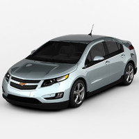 3d model chevy volt