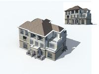 3d exterior rendering model