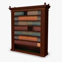maya book case