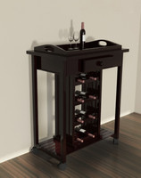 3d wine table model