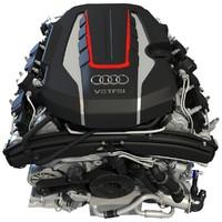 2012 Audi S8 TFSI V8 Engine