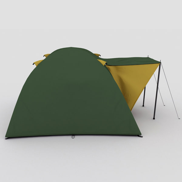camping campfire chair 3d max - Camping Collection... by 3d_molier
