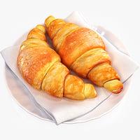 croissants 3ds