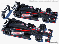 indycar 2012 race car 3d max