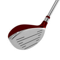 3ds max red brassy golf