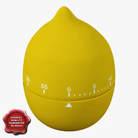 Kitchen Timer Lemon