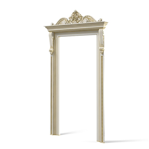 petergof door portal 3d model - Petergof Door Portal Baroque... by shop3ds